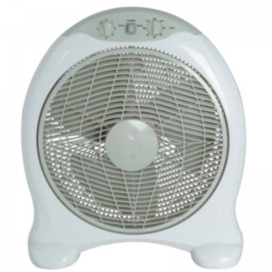 16 inch box fan with timer and strong wind